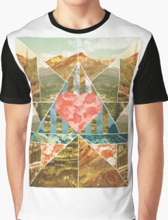 Heart Travel Graphic T-Shirt