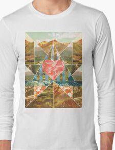 Heart Travel Long Sleeve T-Shirt