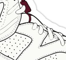 "Air Jordan VII (6) ""Maroon"" Sticker"