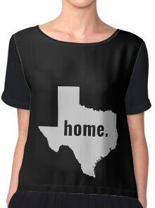 Texas Home State Pride Chiffon Top