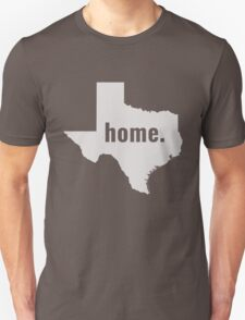 Texas Home State Pride Unisex T-Shirt