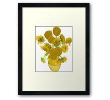 Sunflowers by Vincent van Gogh Framed Print