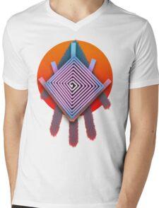Dreamcatcher Swirl Mens V-Neck T-Shirt
