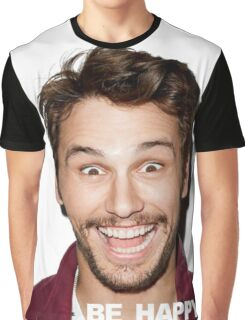 BE HAPPY. Graphic T-Shirt