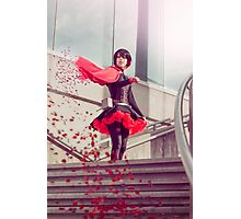 Ruby Rose Cape Photographic Print