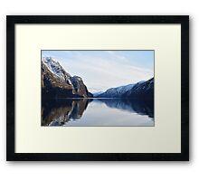 Arcitc Fjords Framed Print