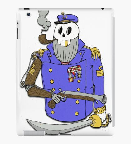 Captain Woody Bi.Sailors iPad Case/Skin