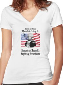 Lafayette! Women's Fitted V-Neck T-Shirt