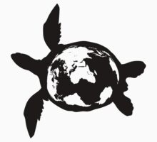 Peace Turtle One Piece - Short Sleeve