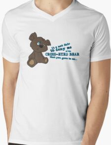 Cross-Eyed Bear that you gave to me Mens V-Neck T-Shirt