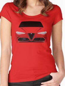 Alfa Romeo Giulia Women's Fitted Scoop T-Shirt