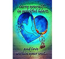 Heart and Soul Photographic Print