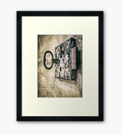 Lock In - Lock Out Framed Print