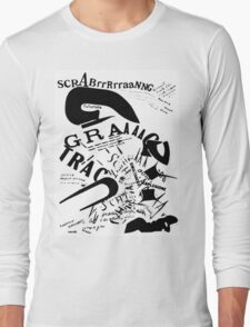 Futurism: Words in Freedom Long Sleeve T-Shirt