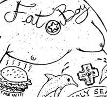 Fat Boy Bi.Sailors Sticker