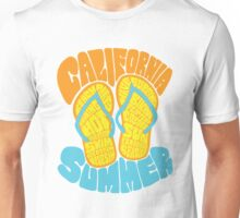 California Summer Beach Life  Unisex T-Shirt