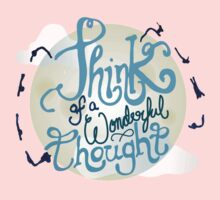 Think of a Wonderful Thought Kids Tee