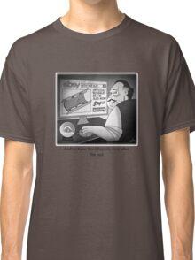 "Citizen Kane Finds ""Rosebud"" (Film Geek Humor) Classic T-Shirt"