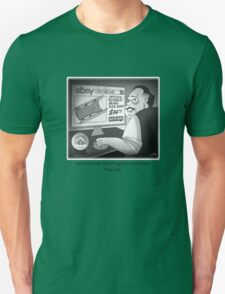 """Citizen Kane Finds """"Rosebud"""" (Film Geek Humor) Unisex T-Shirt"""