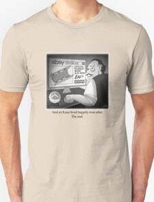 "Citizen Kane Finds ""Rosebud"" (Film Geek Humor) T-Shirt"