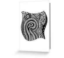 Black and White Design # 01 Greeting Card