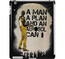 A Man, A Plan and an Aerosol Can iPad Case/Skin