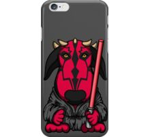 Dark Side Bull Terrier iPhone Case/Skin