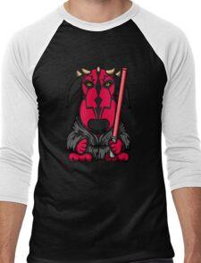 Dark Side Bull Terrier Men's Baseball ¾ T-Shirt