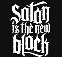 Satan is the new black No.4 (white) Unisex T-Shirt