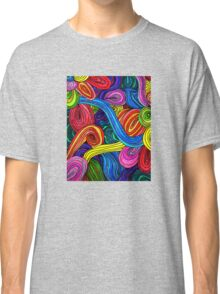 Psychedelic Lines Classic T-Shirt