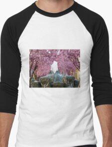 Cherry Blossoms #2 Men's Baseball ¾ T-Shirt