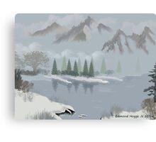 Rocky Mountain Fog Canvas Print