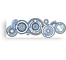 Gallifreyan Canvas Print