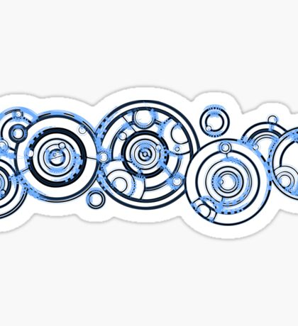 Gallifreyan Sticker