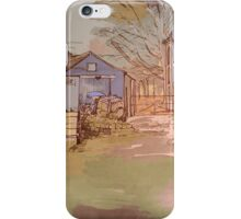 Old Millhouse Yard iPhone Case/Skin