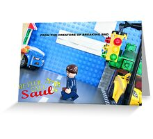 Lego Better Call Saul Greeting Card