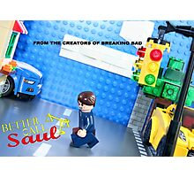 Lego Better Call Saul Photographic Print