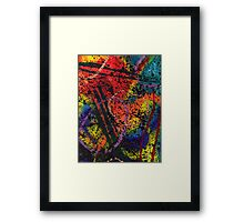 Galactic Boom Framed Print