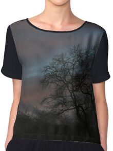 As the night descends Chiffon Top