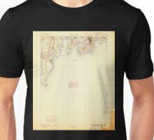 USGS TOPO Map Rhode Island RI Newport 353514 1889 62500 Unisex T-Shirt
