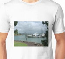A berth with a view..........Whangaroa Harbour.........! Unisex T-Shirt