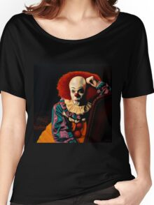 Pennywise painting Women's Relaxed Fit T-Shirt