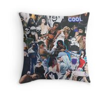 just tryna be cool Throw Pillow