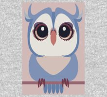 BABY BLUE OWLET One Piece - Long Sleeve