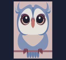 BABY BLUE OWLET Kids Tee