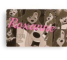 "Roxanne ""Goofy Movie"" Canvas Print"