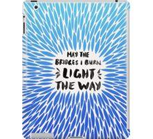 Bridges Burned – Blue Ombré iPad Case/Skin