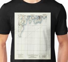 USGS TOPO Map Rhode Island RI Newport 353523 1935 62500 Unisex T-Shirt