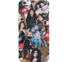 blue angel, red devil  iPhone Case/Skin