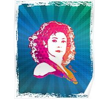 River Song Doctor Who Pop Art Poster